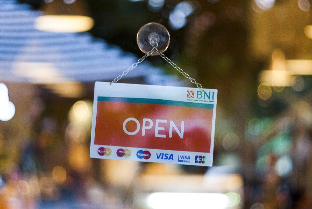 otevřený obchod
